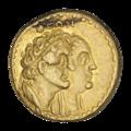 INC-1941-r Тетрадрахма Египетское царство Птолемей III (реверс).png