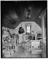 INTERIOR, LOOKING WEST - John L. Edwards Granary, 55 South Second West, Willard, Box Elder County, UT HABS UTAH,2-WILL,2A-2.tif
