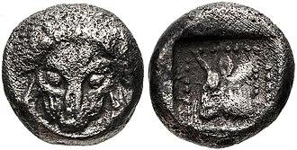 Syloson - Coinage of Samos at the time of Syloson. Circa 500-494 BCE.