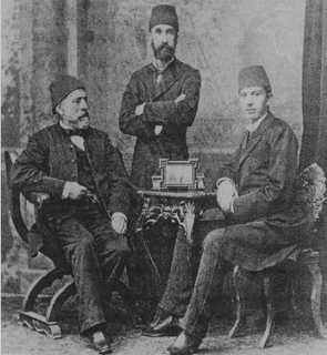 Ibrahim Edhem Pasha Grand Vizier of the Ottoman Empire
