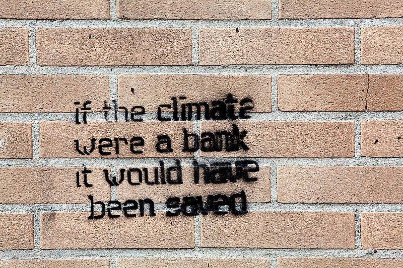 File:If the climate were a bank it would have been saved.jpg