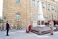 Ilham Aliyev visited the monument in honor of Azerbaijan Democratic Republic 5.jpg