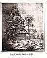 Immanuel Church Mayville log church, 1848.jpg