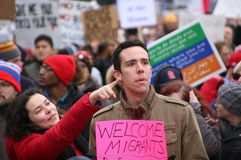 File:Immigration Rally Welcome MIgrants (32599908792).jpg
