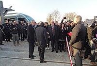 Inauguration de la branche vers Vieux-Condé de la ligne B du tramway de Valenciennes le 13 décembre 2013 (081).JPG