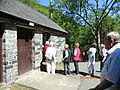 Inevitable line outside a womens restroom at Llanfihangel-y-Pennant - panoramio.jpg