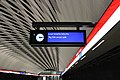 Information board at the Matinkylä metro station.jpg