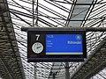 Information displays at Helsinki Central railway station 06.jpg