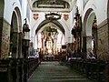 Inowrocław, kościół par. p.w. św. Mikołaja - wnętrze kościoła.JPG