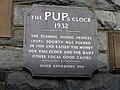 Inscription stone, PUPs Clock - geograph.org.uk - 1530233.jpg