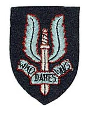 3rd Parachute Chasseur Regiment - Image: Insigne des SAS Français en 44