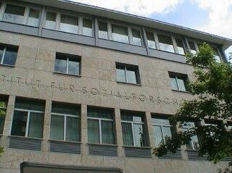 University of Frankfurt Institute for Social Research - Image: Institutfuer Sozialforschung 3