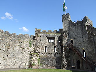 Cardiff Castle - Interior of the keep