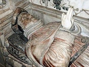 Christopher Wray (English judge) - Effigy on tomb