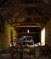 Interior of a barn at Old Lodge - geograph.org.uk - 404149.jpg
