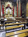 Interno Chiesa dei Borgognoni.JPG