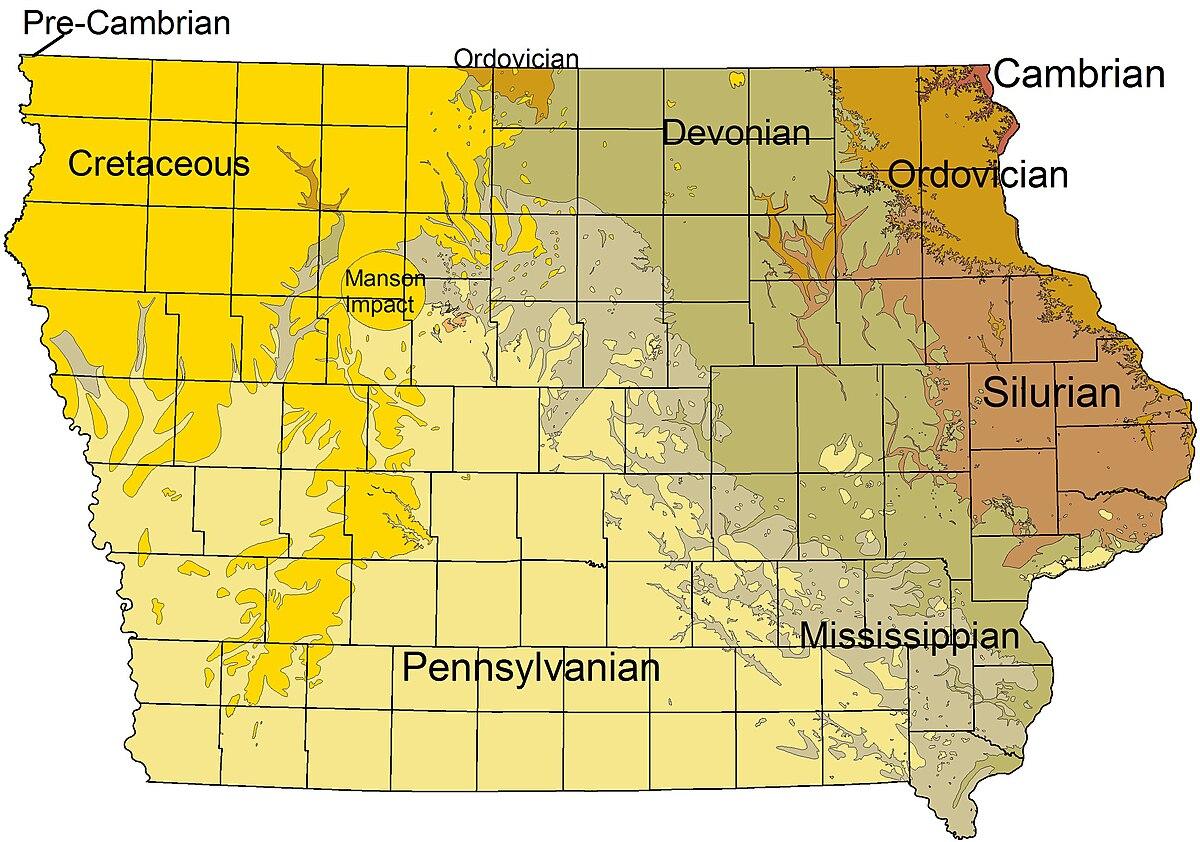 geology of iowa wikipedia