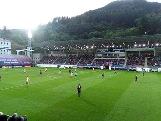SD Eibar - Ipurúa stadium