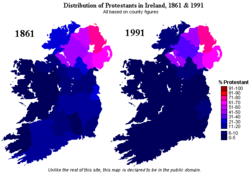Ireland protestants 1861 1991.png