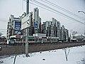 Irkutsk. February 2013. Cinema Barguzin, regional court, bus stop Volga, Diagnostic Center. - panoramio (10).jpg