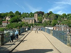 Ironbridge town and church - geograph.org.uk - 267014.jpg