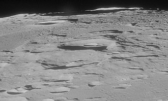 Capella (crater) - Image: Isidorus crater Capella crater AS11 42 6232