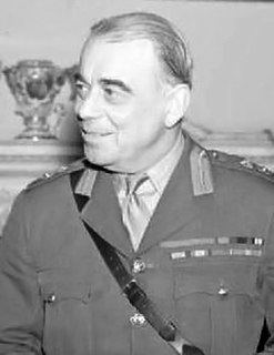 Hastings Ismay, 1st Baron Ismay British army officer and diplomat, 1st Secretary General of NATO
