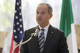 Italian Ambassador to the United States Armando Varricchio delivers remark 161209-H-NI589-256.jpg