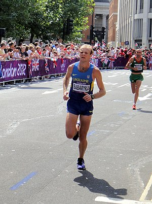 Ukraine at the 2012 Summer Olympics - Ivan Babaryka in men's marathon