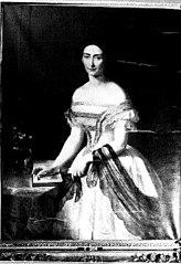 Francine Christina Henriëtte Maria (1826-1861), Barones van Heeckeren. Echtgenote van Louis Evert Baron van Heeckeren