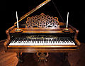 J. B. Streicher Grand Piano (Vienna, 1869), Schubert Club, St. Paul, Minnesota.jpg