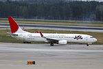 JA305J - Japan Airlines - Boeing 737-846(WL) - PEK (15117485312).jpg