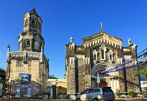 Bulakan - Façade of the Nuestra Señora de la Asuncion Parish Church