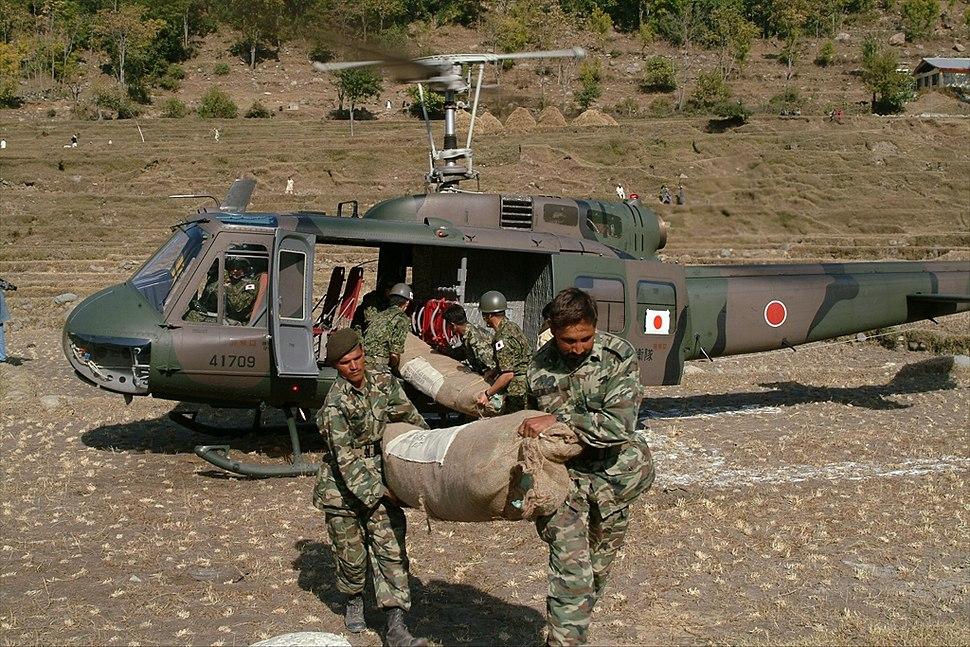 JGSDF International disaster relief activities in Pakistan