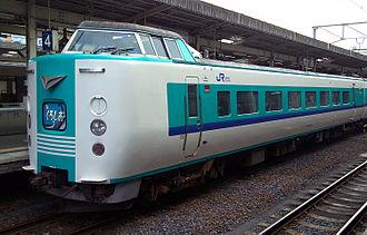381 series - Image: JR Kuroshio go Wakayama Station M0866