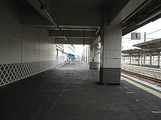Kurashiki Station Railway station in Kurashiki, Okayama Prefecture, Japan