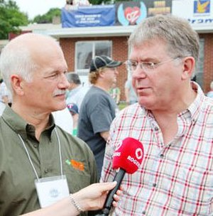 Jack Harris (Newfoundland and Labrador politician) - Harris with Jack Layton