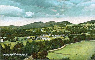 Jackson, New Hampshire - Bird's-eye View in 1907