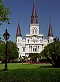 """Jackson Square """"St. Louis Cathedral,"""" New Orleans, Louisiana, U.S.A.jpg"""