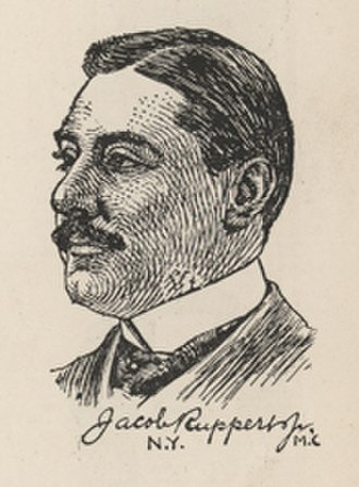 Jacob Ruppert - 1902 engraving of Ruppert during his time in Congress