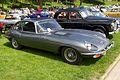 Jaguar E-type, BPE 222H, Lincoln Castle 1.jpg
