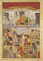 Jahangir Receives Prince Khurram at Ajmer on His Return from the Mewar Campaign.jpg