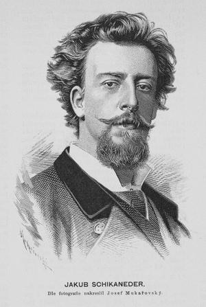 Jakub Schikaneder - Image: Jakub Schikaneder 1887 Mukarovsky