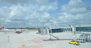 Sultan Thaha Airport - Apron view
