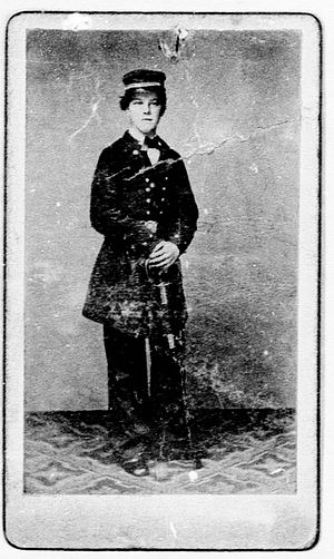 James Henry Carpenter - Carpenter in 1861 or 1862 in the Union Navy. Full image from his widow's pension file.