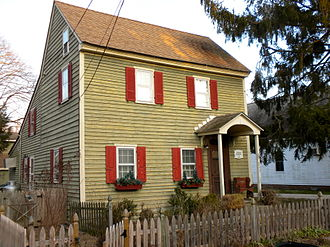 Dennisville, New Jersey - James House in Dennisville Historic District
