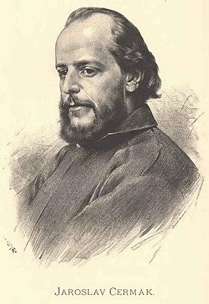 Jaroslav Čermák (painter) - Jaroslav Čermák, by Jan Vilímek
