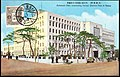 Japan 1934 stamped postcard showing Osaka Prefectural office near the Oteme Park.jpg