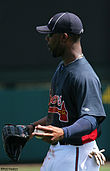 Jason Heyward with the Atlanta Braves in 2010
