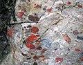 Jasper-quartz pebble conglomerate (Lorrain Formation, Paleoproterozoic, ~2.3 Ga; Ottertail Lake Northeast roadcut, near Bruce Mines, Ontario, Canada) 17 (33831918928).jpg